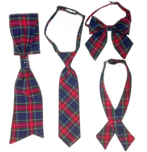 Из галстуков для девочек